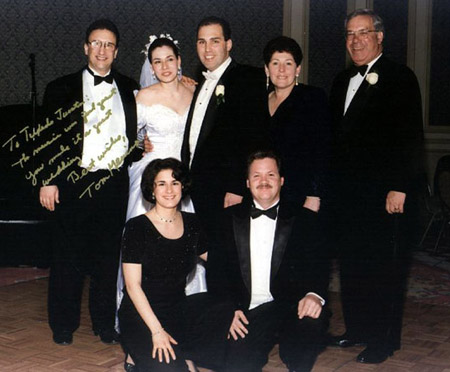 Mayor Menino's son's wedding in Boston